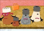 Mr salt and mrs pepper's baby bag missing