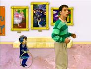 Steve and Rain Girl in the Art Museum