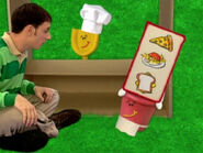 Blue's Clues Pail as a Waitress