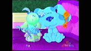 Blue's clues moona key polka dots blue