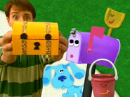 Blue's Clues Mailbox with Shovel and Pail