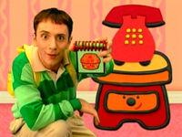 Blue's Clues Sidetable Drawer Treasure Notebook
