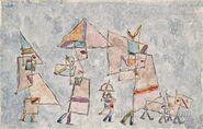 Oriental Promenade - Paul Klee