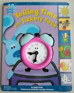 Blue's Clues Telling Time with Tickety Tock Clock Book
