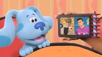 Blue Talking to Steve and Joe in Meet Josh!