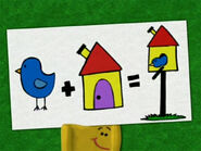 Blue's Clues Shovel with Birdhouse Poster