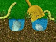 Blue's Clues Shovel with Rocks
