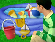 Blue's Clues Shovel and Pail at the Pool