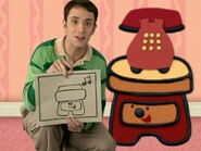 Blue's Clues Sidetable Drawer Drawing