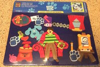 Blue's Clues Feltkids Playset - Learning Curve 1998