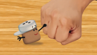 Cinnamon fist bumps Josh HD