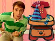 Blue's Clues Sidetable Drawer Party Hat