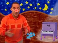 Kevin, Blue, and Piano at Night UK
