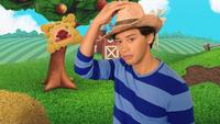 Josh Puts on a Farmer's Hat