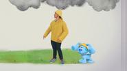 Josh blue raincoat