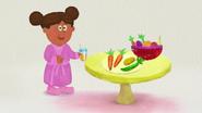 Jill drinking juice ghwb