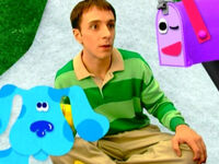 Blue's Clues Mailbox Winking at Steve