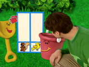 Blue's Clues Shovel with Stamps