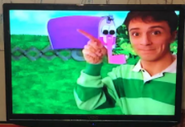 Blue's Clues Magenta Comes Over VHS