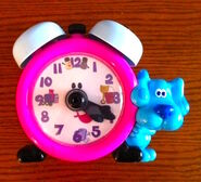 Blue's Clues Tickety Tock Clock Toy - Tyco 1998