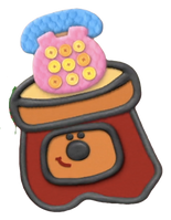 Blue's Clues Sidetable Drawer as a Baby