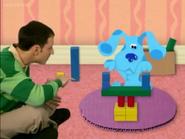 Blocks Blue's Tower