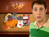 Blue's Clues Cinnamon and Paprika's Room