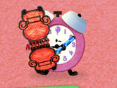 Blue's Clues Tickety Tock with Notebook