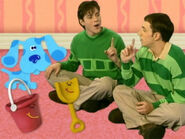 Blue's Clues Shovel and Pail with Steve and Joe