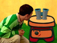 Blue's Clues Sidetable Drawer with Binoculars