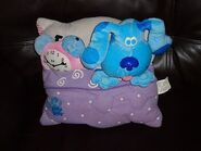 Blue's Clues Tickety Tock Clock Plush Pillow