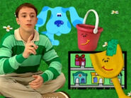 Blue's Clues Shovel and Pail with Dollar Bills