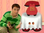 Blue's Clues Sidetable Drawer Ghost Costume