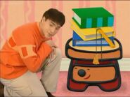 Blue's Clues Sidetable Drawer Contraption