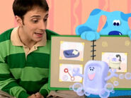 Blue's Clues Slippery Soap with Photo Album
