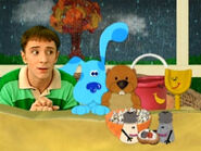Blue's Clues Shovel and Pail with the Shakers