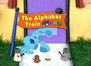 The Alphabet Train Title Card
