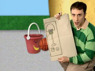 Blue's Clues Pail Drawing