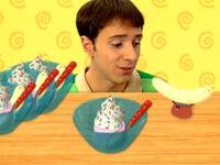 Blue's Clues Paprika with Banana Split