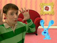 Blue's Clues Cafe Blue Opening