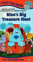 Blue's Clues, Blue's Big Treasure Hunt (VHS, 1999) (Artwork
