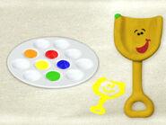 Blue's Clues Shovel with Paint Set