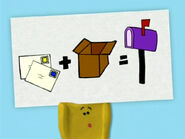 Blue's Clues Shovel with Mailbox Sign