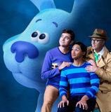 Blue and her owners