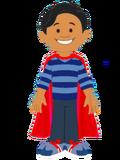 Blue's Clues & You Cartoon The Thinking Squad Super Josh (Josh's Superhero Cape)
