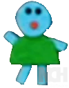 Unnamed felt friend from blue's clues blue's news