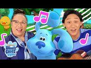 3 Little Ducks Sing Along w- Josh & Lola! 🐣 - Bilingual Sing Along - Blue's Clues & You-2