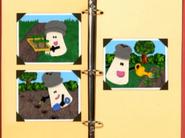 Mr Salt gardening