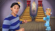 Josh steps