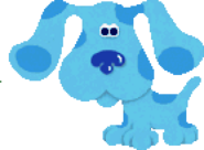 Blue from Blue's Reading Time Activities